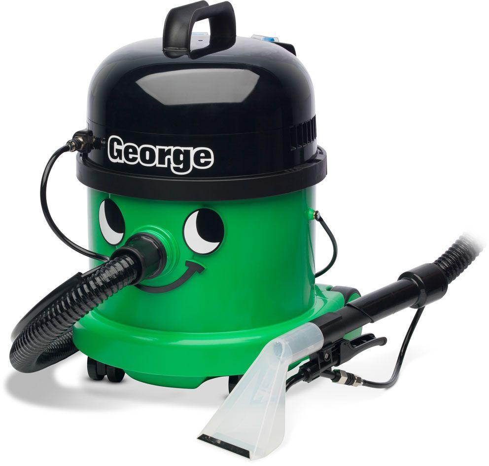 Numatic George GVE 370 odkurzacz piorący + 2 l płynu + worki+zabawkowy Henry