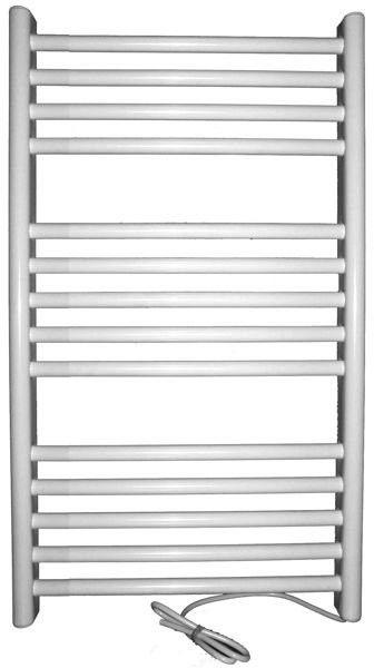 Grzejnik elektryczny siena 300x720, biały (elektryczny suchy, suszarka łazienkowa)