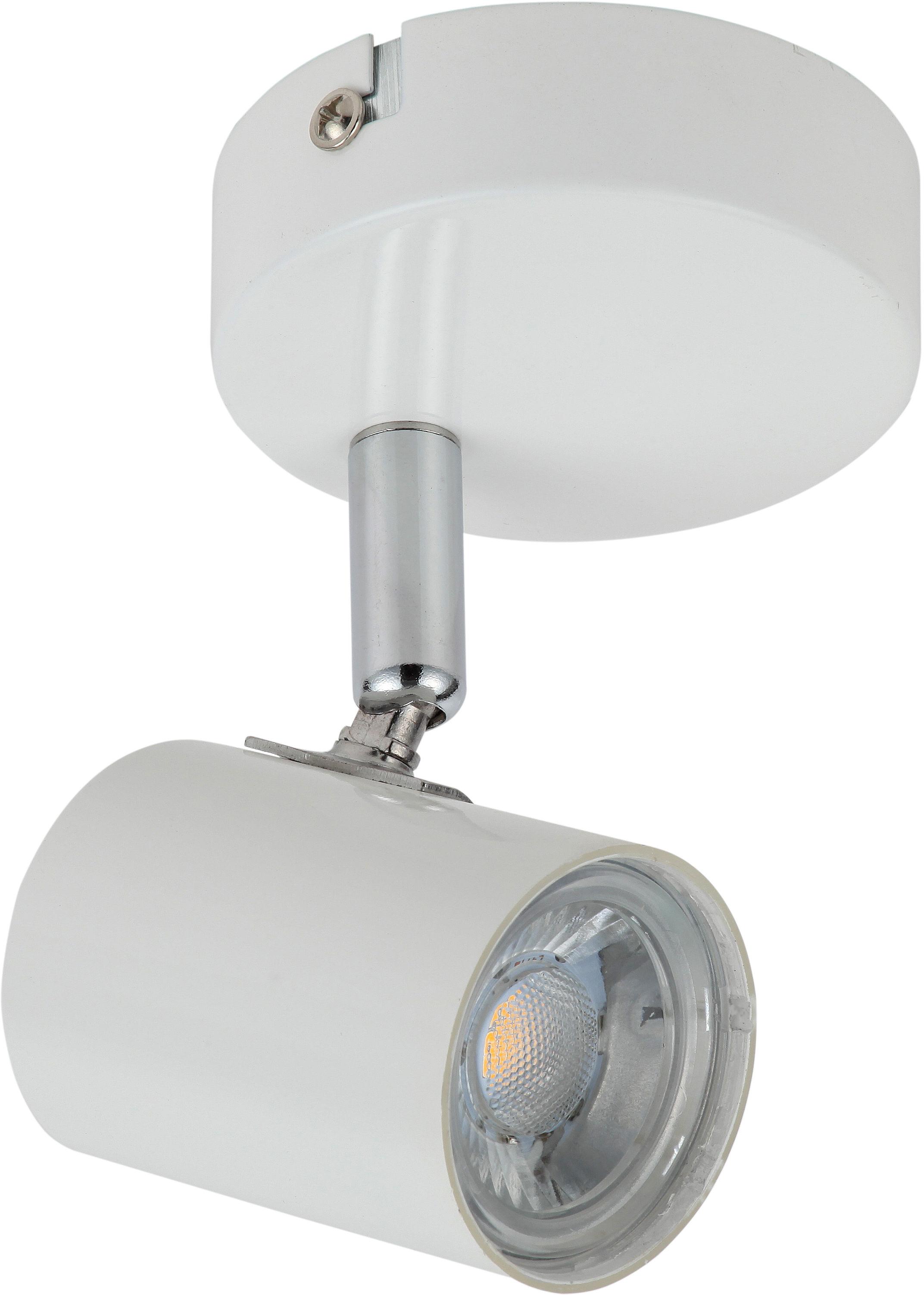 Candellux HALLEY 91-49520 kinkiet lampa ścienna biała 1X4W LED BIAŁY 5cm