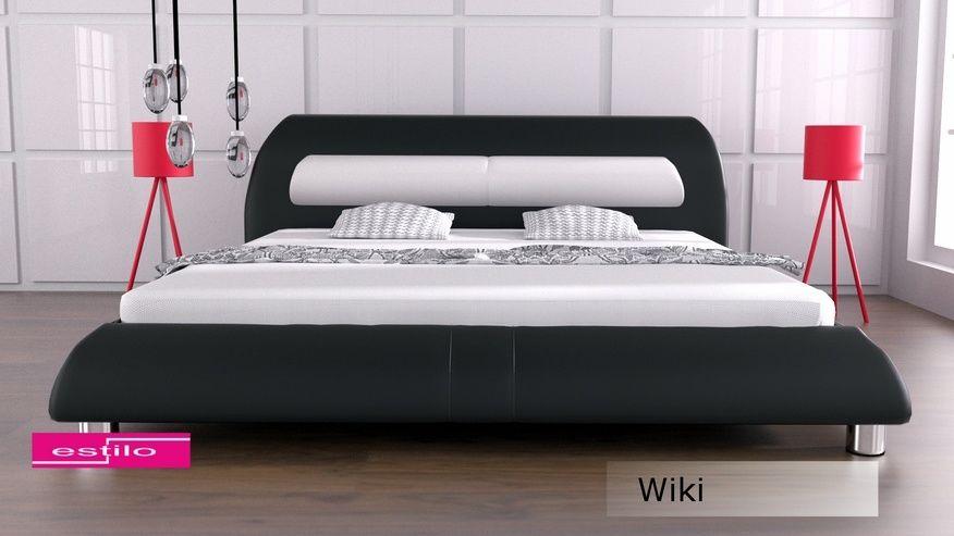 Łóżko tapicerowane Wiki 200x200 - tkanina