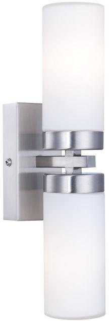 Globo kinkiet lampa ścienna Space 7816 podwójna do łazienki IP44 31cm