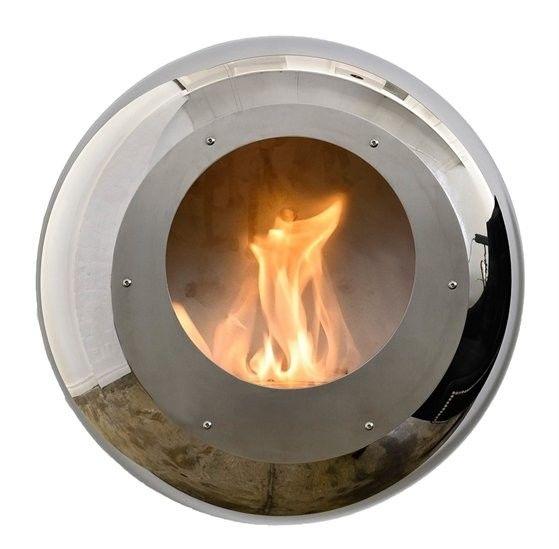 Biokominek Cocoon Vellum Stainless Steel --- OFICJALNY SKLEP Cocoon Fires
