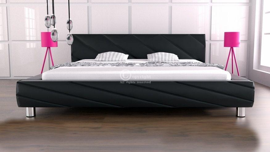 Łóżko do sypialni Apollo 160x200 - tkanina