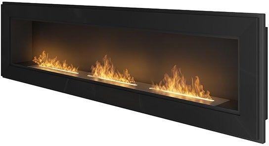 Biokominek wiszący Simple Fire FRAME 1800 czarny 1800x490 mm --- OFICJALNY SKLEP SIMPLEfire
