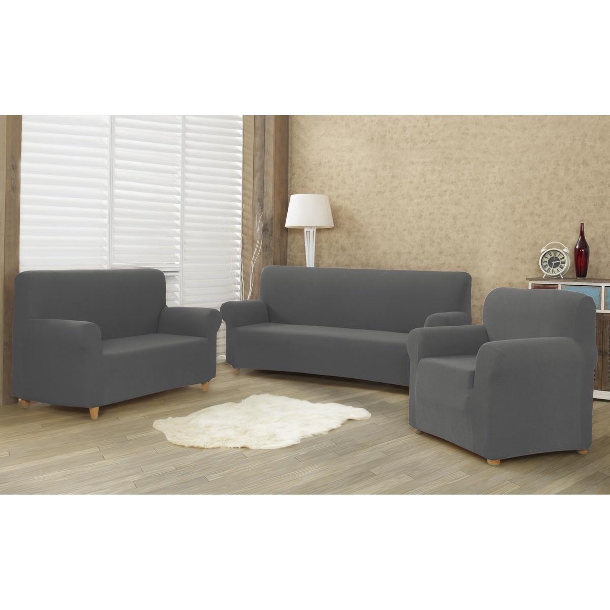 4Home Multielastyczny pokrowiec na fotel Comfort szary, 70 - 110 cm, 70 - 110 cm