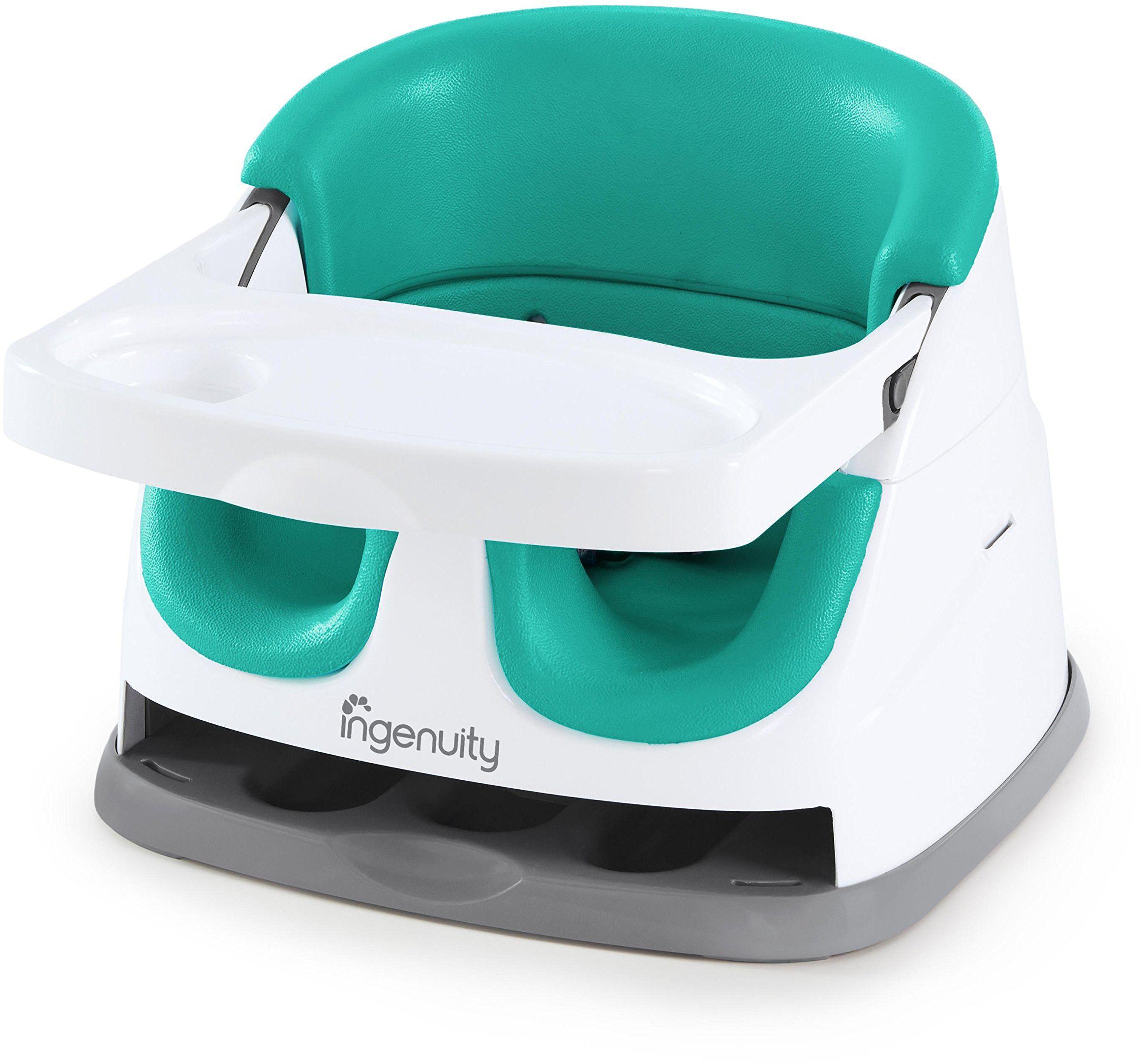 Ingenuity Krzesełko 2w1 Baby Base Ultramarine Green