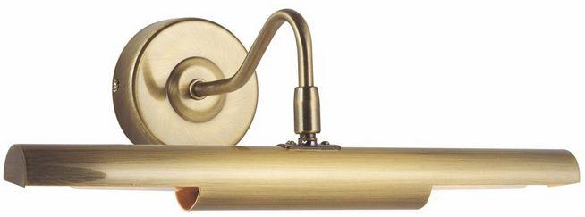 Globo kinkiet lampa ścienna Picture 4405 kolor starego złota regulowany przełącznik 36,5cm