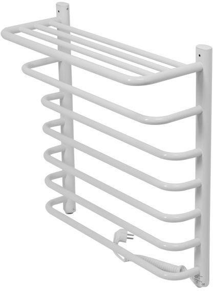 Grzejnik elektryczny ravenna 610x500, biały (elektryczny suchy, suszarka łazienkowa)