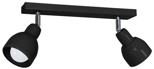Lampa sufitowa PIK BLACK 2xE27 MLP9685