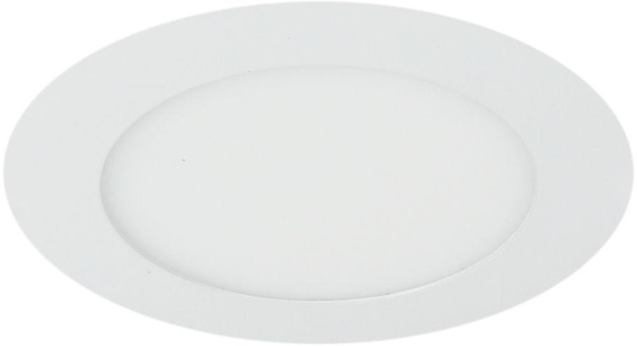 Candellux SP-02 WH 2245607 oprawa do wbudowania stropowa biała 6W LED 230V oczko sufitowe okrągła panel LED min.13cm