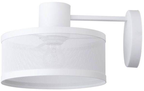 Nowoczesna lampa ścienna siatka BONO KINKIET biały 31929