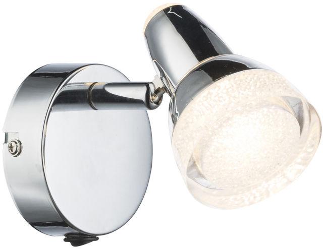 Globo ALASKA 56134-1 kinkiet lampa ścienna chrom 1xLED 4W 3000K 8cm