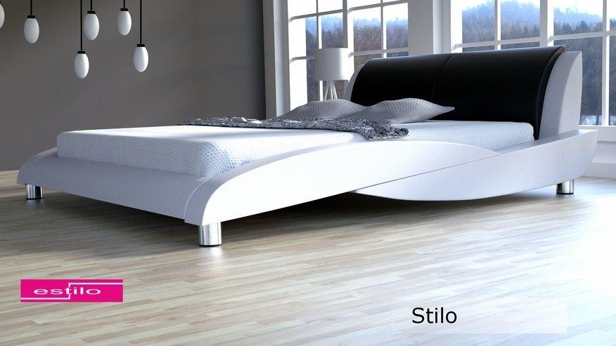 Łóżko tapicerowane Stilo 160x200 - tkanina