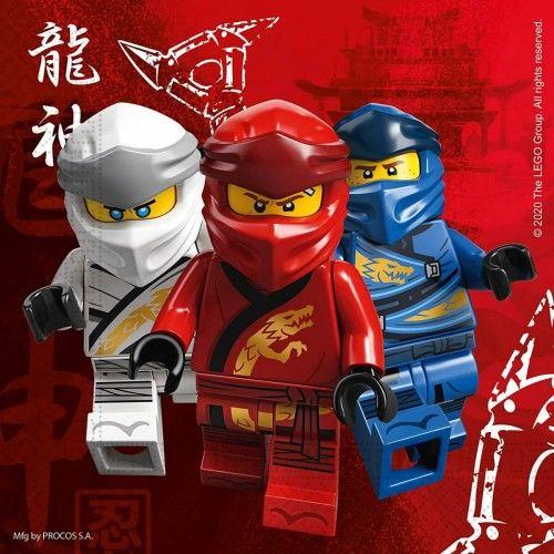 Serwetki papierowe Lego Ninjago, 20 szt.