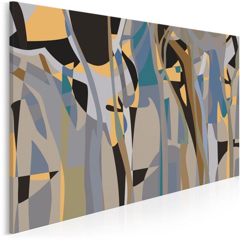 Lustro duszy - nowoczesny obraz do salonu - 120x80 cm