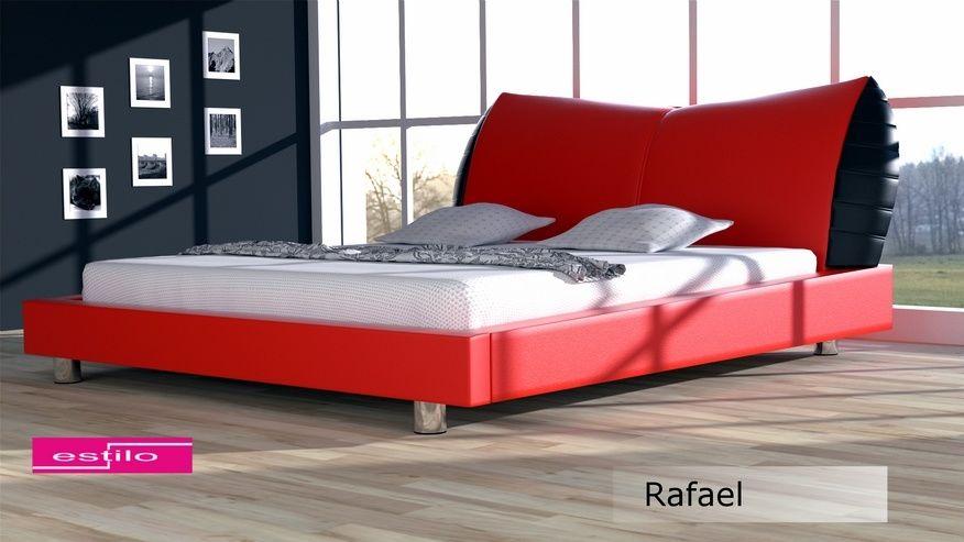 Łóżko tapicerowane Rafael 160x200 - tkanina