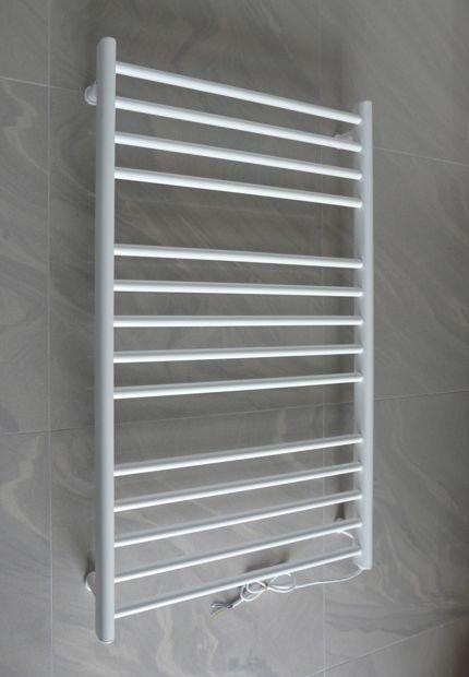 Grzejnik elektryczny piacenza 600x1000 biały (elektryczny suchy, suszarka łazienkowa)