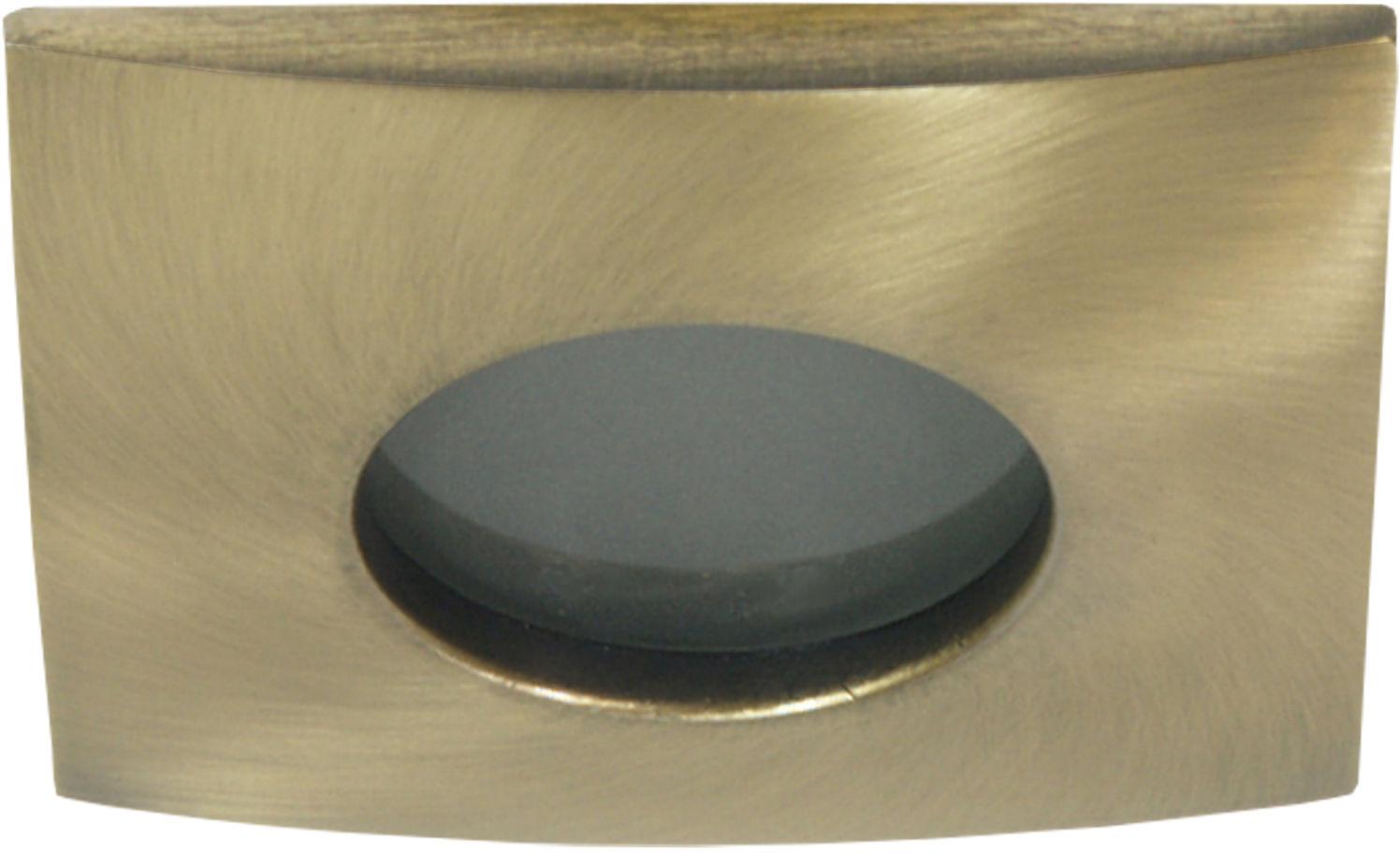 Candellux SH-10 GAB 2211411 oprawa do wbudowania stropowa MR16 patyna stare złoto oczko min.7,2cm IP65