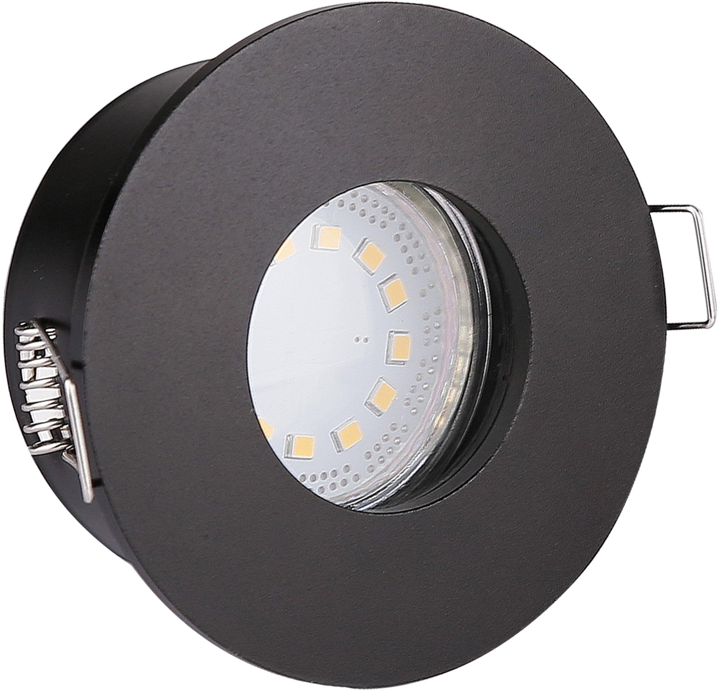 Candellux SH-12 2273129 oprawa do wbudowania stropowa czarna hermetyczny min. 6,8cm IP65