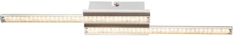 Globo JORNE 67004-6 plafon lampa sufitowa satyna nikiel LED 6W 3200K 46cm