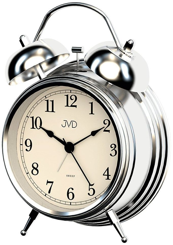 Budzik JVD SRP2217.1 Bell Alarm