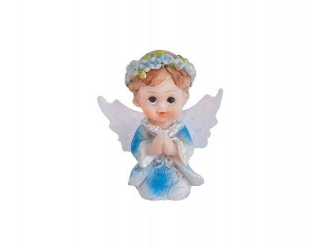 Figurka gipsowa komunijna chłopiec, 4,5 cm, 1 szt.