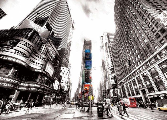 Fototapeta na ścianę - Times Square Vintage (New York) - 254x183 cm