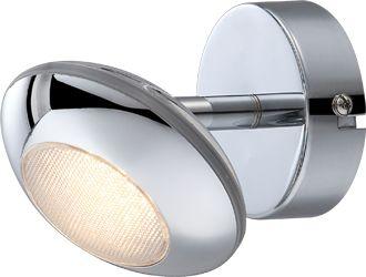 Globo kinkiet lampa ścienna Gilles 56217-1 WM chrom LED 5W 3000K