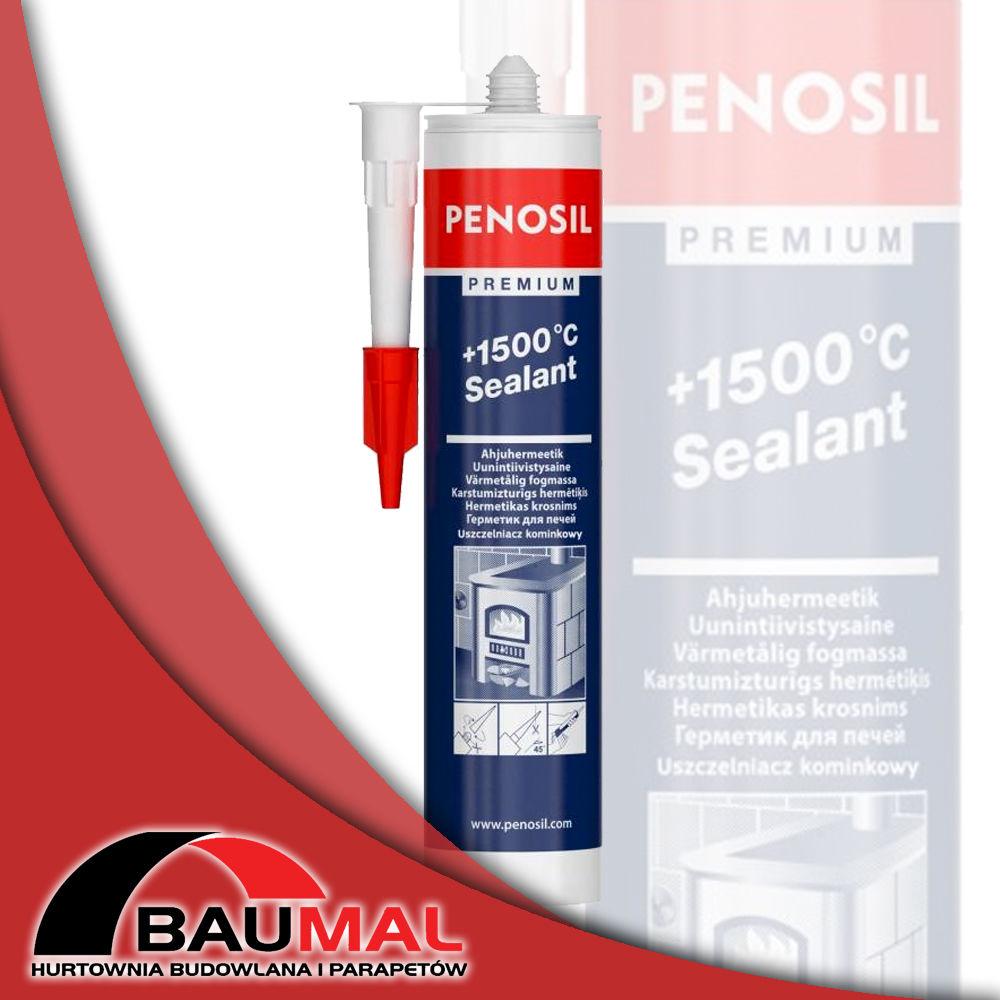 Uszczelniacz do pieców ogniowy PENOSIL Premium +1500 C