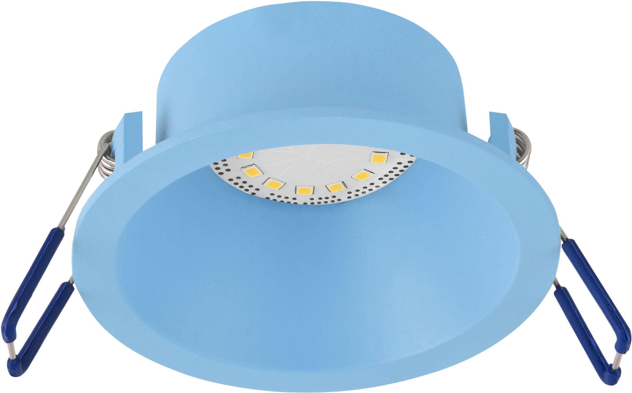 Candellux SA-12 BL 2268736 oprawa do wbudowania niebieska GU10 MAX 35W 230V oczko sufitowe min.7,4cm