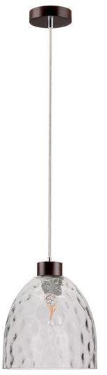 SPOTLIGHT lampa wisząca AURA z drewna bukowego kolor orzech, 1450176
