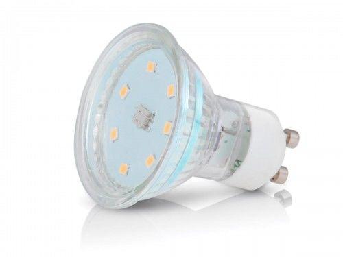 Żarówka LED PREMIUM GU10 3W ~ 25W zimna