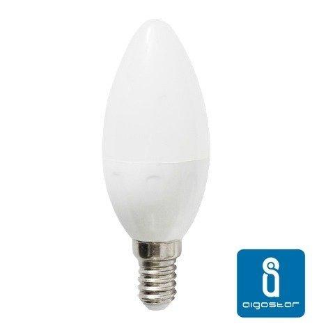 Żarówka LED E14 7W ciepła 3000K świeczka C37