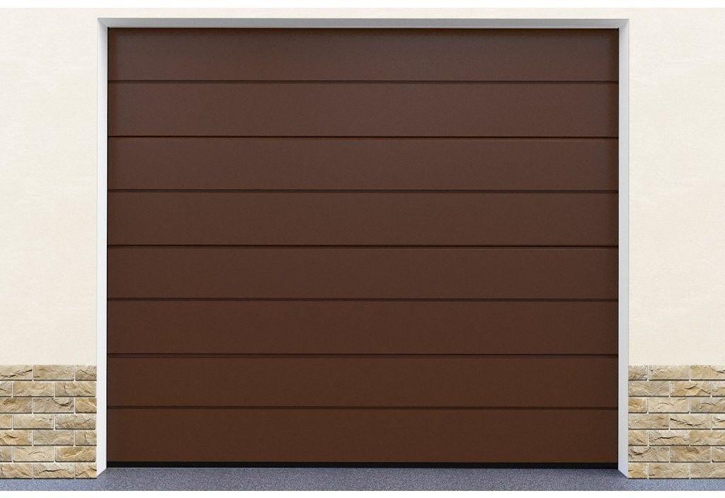 Brama garażowa segmentowa RAL8014