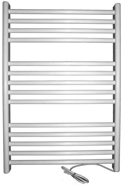 Grzejnik elektryczny siena 400x720, biały (elektryczny suchy, suszarka łazienkowa)