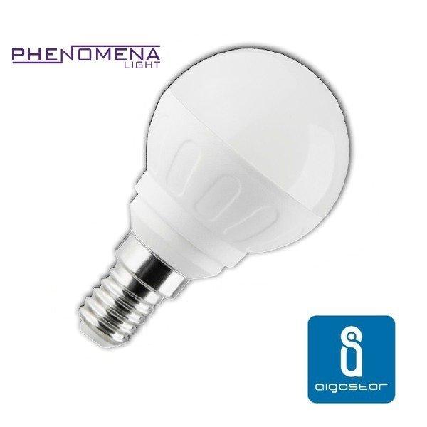 Żarówka LED E14 5W zimna 6500K kulka - Biała Zimna