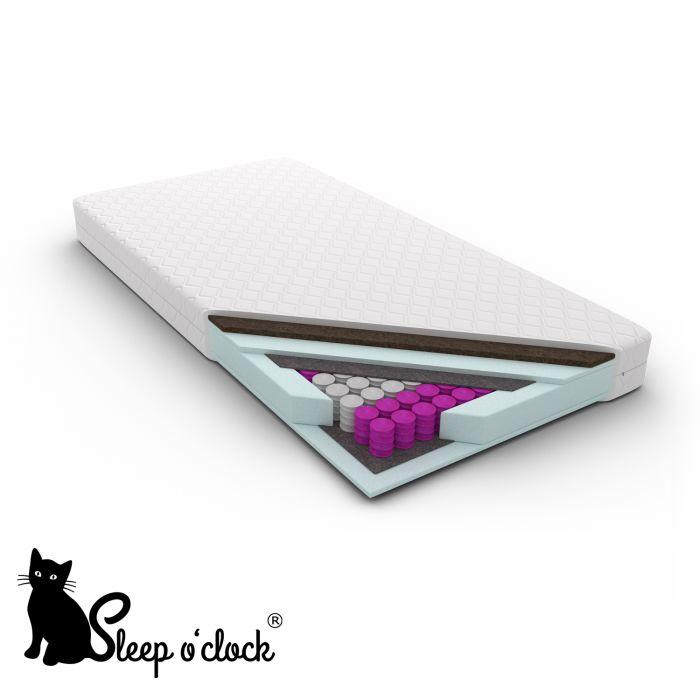materac kieszeniowy pocket EDUARDO sleep o''clock 90x200 H2 H4 + 10 lat gwarancji