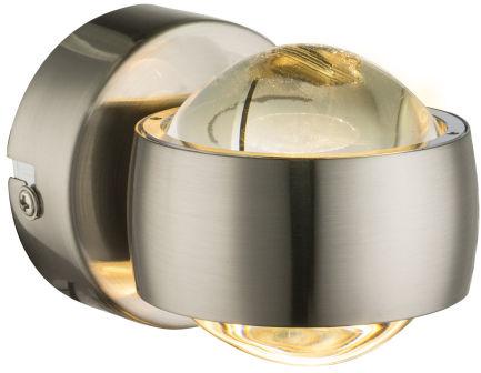 Globo RANDI 78290 kinkiet lampa ścienna satyna 2xLED 3W 3000K 7cm