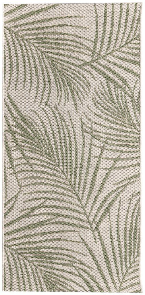 Dywan Cottage II wool/ jungle green 67x130cm