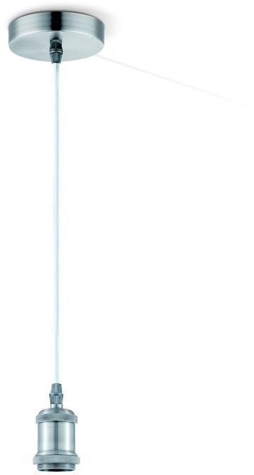 Globo OLIVER A30 lampa wisząca stal matowa 1xE27 10cm