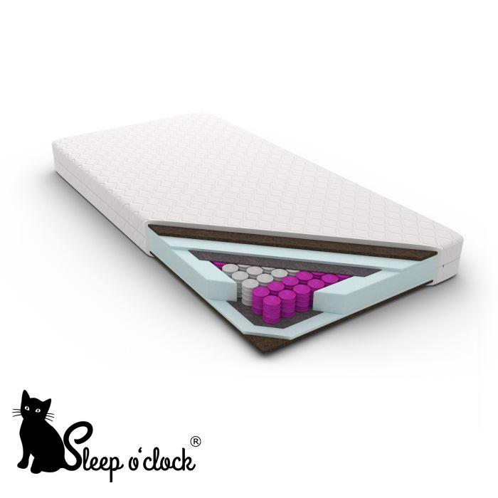 materac kieszeniowy pocket EMILIO sleep o''clock 80x200 H3 + RATY