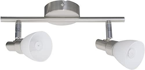 "NAEV5 1199150 A++ do A, lampa sufitowa LED""Shine"" metal, stal, 27,5 x 8 x 12 cm"