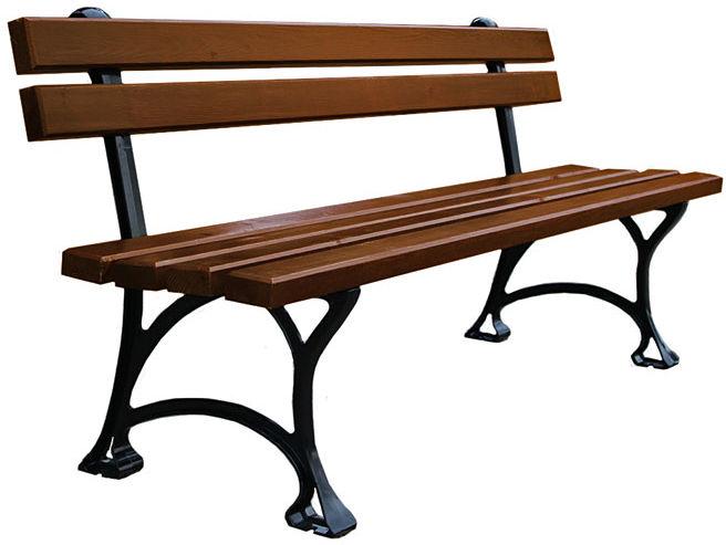 Ławka parkowa Vera 3X 150cm - 7 kolorów