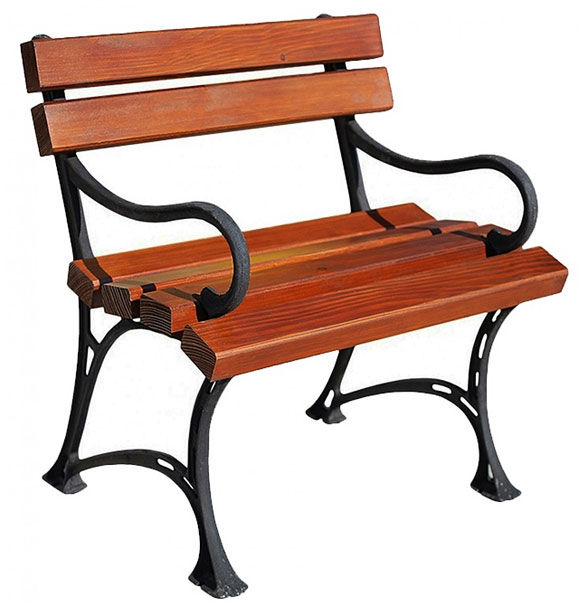 Drewniane krzesło ogrodowe Helen - 7 kolorów