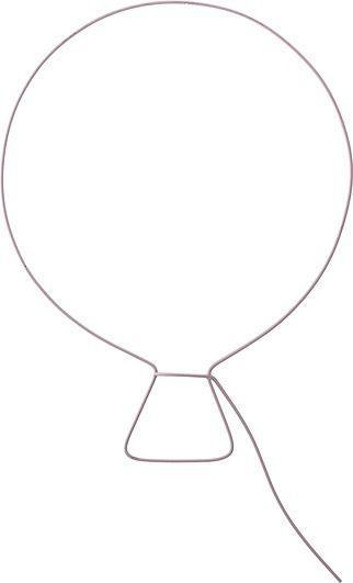 Dekoracja ścienna metalowa bloomingville mini balon