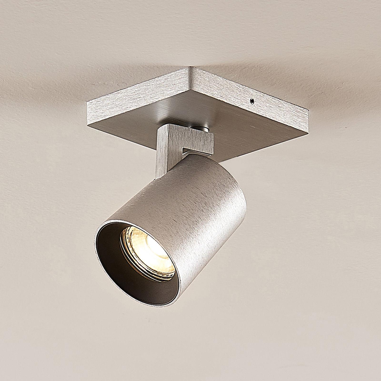 Reflektor Iavo, regulowany, aluminiowy, 1-punktowy