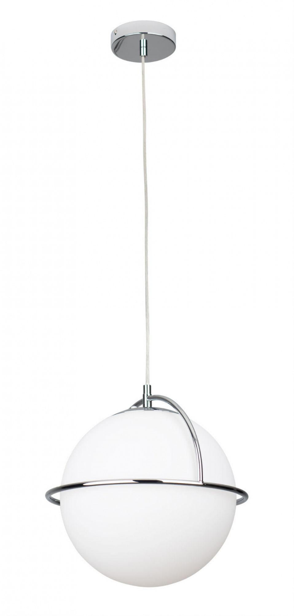 Lampa wisząca SATURN P0380 MAXlight chromowa oprawa w stylu nowoczesnym