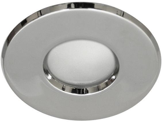 Candellux SH-04 CH oprawa do wbudowania stropowa MR16 chrom hermetyczna łazienkowa IP65