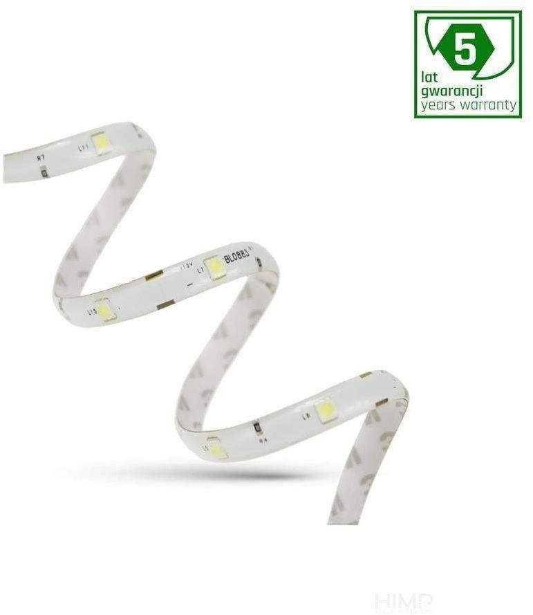 PASEK LED 24W 5050 30LED CW 5 lat 1m (rolka 5m) -bez osłony