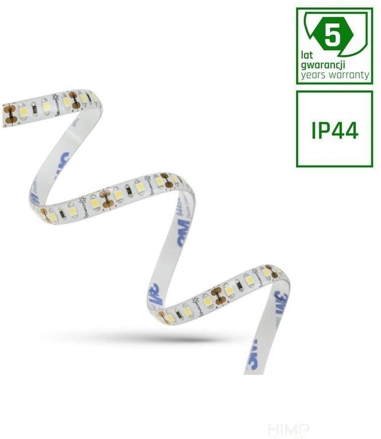 PASEK LED 30W 3528 120LED CW 5 lat 1m (rolka 5m) - w silikonie